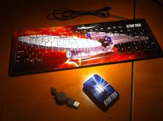 Star Trek Mouse and Keyboard