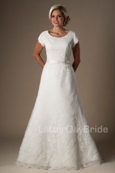 Modest Wedding Dresses : Rayburn
