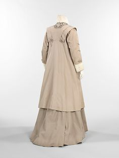 c. 1910 ensemble by Thurn (American), made of wool, silk, fur, metal. The Metropolitan Museum of Art 2009.300.473a, b
