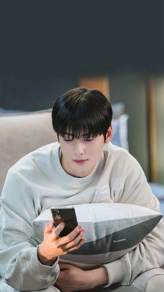 Astro Wallpaper, Glitch Wallpaper, Cha Eun Woo, Cute Couple Art, Cute Couples, Korean Men, Korean Actors, Cha Eunwoo Astro, Lee Dong Min