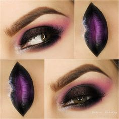 Check out our favorite Hard smoky inspired makeup look. Embrace your cosmetic addition at MakeupGeek.com!