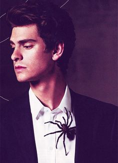 Andrew Garfield. I have never wanted to be a spider so much in my life oh my goodness.