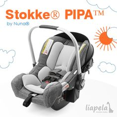 No adapters needed. The all new Stokke Pipa car seat by Nuna is customized to fit all of Stokke Strollers! Like on Instagram @LiapelaModernBaby