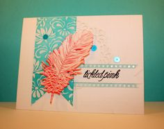 Fabulous color choices!  Barb's Studio Creations: Tickled Pink