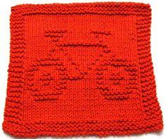 Knitting Cloth Pattern   BIKE   PDF