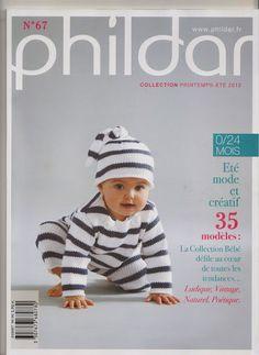 Phildar  n°67 Layette printemps-été 2012 *