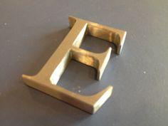 Profiel 3 RVS letters vanaf 50mm hoog