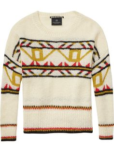 Nordic Pullover | Pullovers | Ladies Clothing at Scotch & Soda