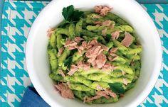 aprende cómo hacer Strozzapreti con salsa de perejil en este post http://exquisitaitalia.com/strozzapreti-con-salsa-de-perejil/ #recetas #recetasitalianas