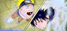 Rasengan vs Chidori by Kira015 on DeviantArt