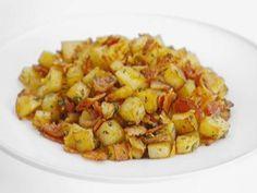 Batatas com Bacon e Pancetta - Food Network