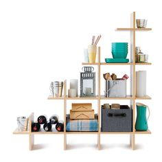 7 storage spots you aren't using (but should be): Below basement stairs. Install a modular shelf (Trilogy staircase shelf, from $240, smartfurniture.com) and outfit it with labeled bins for easy recovery.