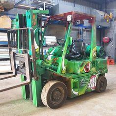 A real monster #forklift truck