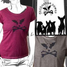 Piraito, camisetas sutiles. #chihuahua power