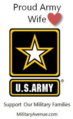 Proud Army Wife - Lots of badges (difference branches and relationships) at http://www.facebook.com/media/set/?set=a.10150348611092199.351448.10813177198&type;=1