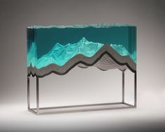 glass and concrete artist based in mount maunganui new zealand