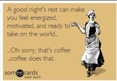 Amen to that! #ecards #funny #coffee