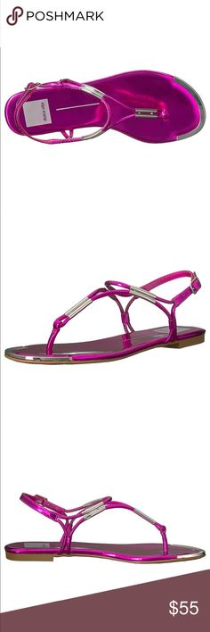 Pink Fuchsia Thong Sandal 100% STELLA Imported A classic dolce vita sandal that can take you from day to night.  Fuchsia Color Dolce Vita Shoes Sandals