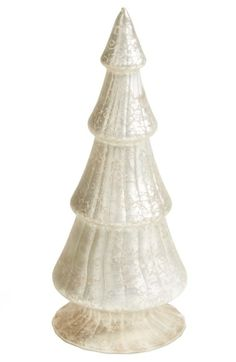CREATIVE CO-OP Mercury Glass Christmas Tree available at #Nordstrom