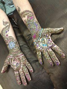 Bridal henna by tejalhenna for Amy 8.14.13
