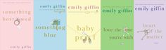 Emily Griffin Books - Good Chick Lit