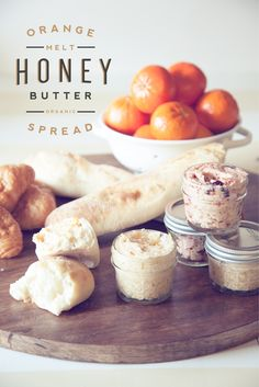 Orange Honey Butter Spread with Melt Organic