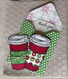 Perfect Blend gift card holder or tea bag holder by skitter - Cards and Paper Crafts at Splitcoaststampers