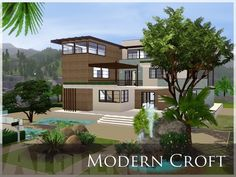 Casas The Sims 3, Lotes The Sims 4, Free Sims, Interior Architecture, Interior Design, Sims Resource, Sims House, Decoration, Relax