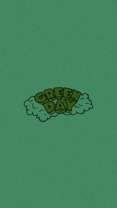 Green Day Logo, Green Day Poster, Billie Joe Armstrong, Gorillaz, Iphone Wallpaper Nasa, Blood Wallpaper, Green Day Billie Joe, Arte Emo, Rock Band Posters