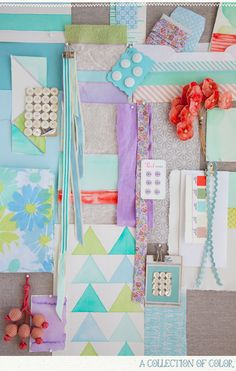 Great inspiration piece for #SCbluenote kits / Styling by Leslie Shewring