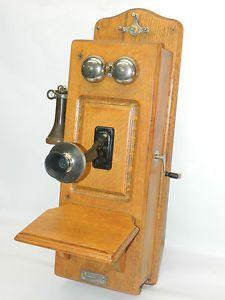 1900s+telephone   ... Wall Telephone Century Telephone Construction Company 1900's