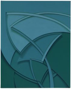 Tomma Abts - Uphe. 2011. Acrylic & oil on canvas, 18.9 × 14.96 inches / 48 × 38 cm.