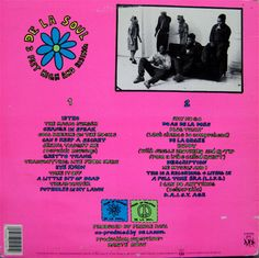 3 Feet High And Rising - De La Soul-vinyl-Back