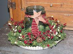Primitive Christmas Decorating Ideas | primitive christmas decorating ideas - Bing Images | Holidays