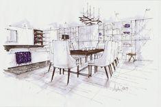 Michelle Morlean - lovely hand rendering style
