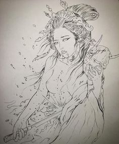 #rdt #reddemon #reddemontattoos #tattoo #tattoos #art #geisha #japan #girl #harakiri #sepukul #blood #sakura #blossoms Can't wait to do…