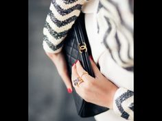 ... Chanel Caviar Clutch.