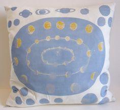 Astronomical Chart Screen Print Cushion