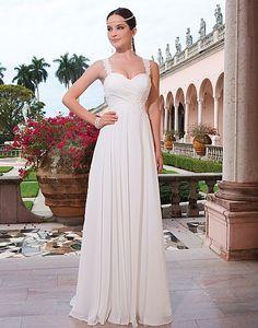 Grecian inspired wedding dress  #light #flowy #pleats  www.bruidshuisdokterdegraaf.nl