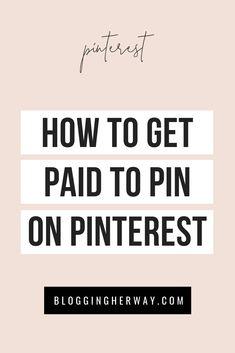 Make Money Blogging, Way To Make Money, Earn Money, Make Money Online, Saving Money, Pinterest Advertising, Pinterest Marketing, Advertising Ideas, Business Tips