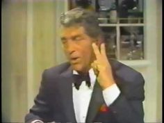 Dean Martin sings LOVE, tells a few jokes, and tunes up