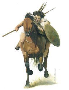 Numidico Horseman, by Jose Daniel Cabrera Peña