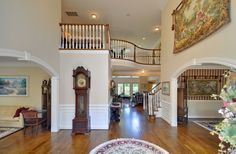 home foyer | Luxury Home in Fords Colony! | Virginia Real Estate