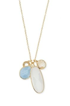 Stella Dot's Trinity Pendant can be worn multiple ways for a flawless summer look!