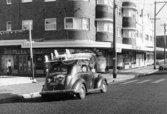 Australian Cars, As Time Goes By, School Photography, City Architecture, Sunshine Coast, Sydney Australia, Historical Photos, Surfing, Explore