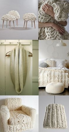 I love the scarf, chair and bed spread!!!