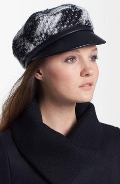Bouclé Newsboy Cap #millinery #judithm #hats