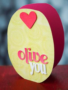 Olive You - how adorable are these DIY cards! More homemade Valentine's: Valentine Quotes Valentines Day, Valentine Day Crafts, Happy Valentines Day, Valentine Stuff, Valentine's Day Quotes, Happy Hearts Day, Homemade Valentines, Valentine's Day Diy, Diy Cards