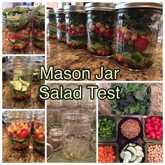 Five Jars. Eight Ingredients. Five Salads. Five Days. Will they stay fresh? The answer will be posted to elected2run.com on July 24, 2015.