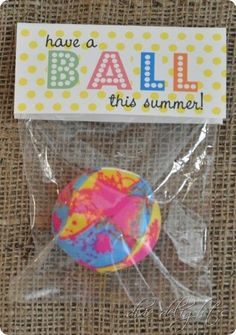 Have a BALL this summer! - Tip Junkie Creative Community